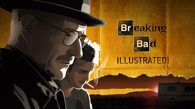Breaking Bad ilustrēts