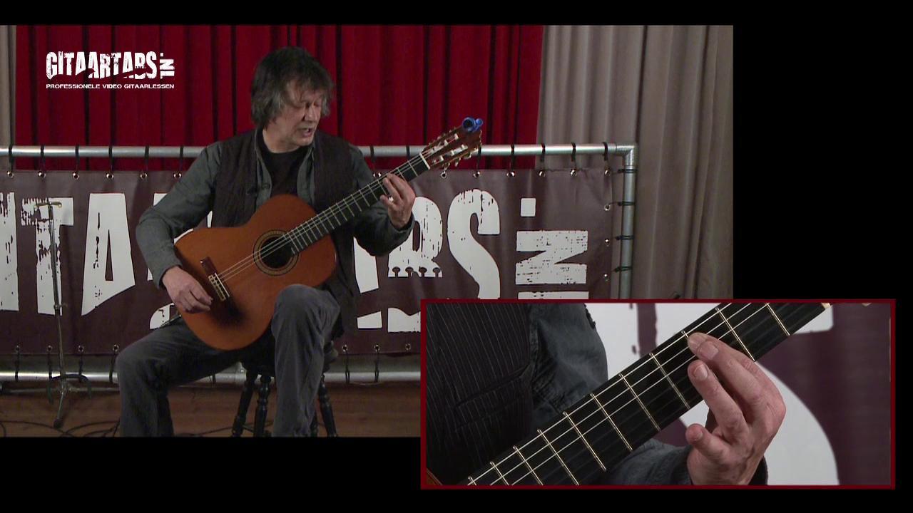 Beginners gitaarles - houding