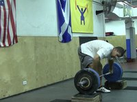 Power Snatch from Low Blocks