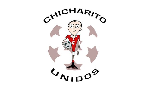 A brilliant new cartoon: Chicharito Unidos (based on Manchester United striker Javier Hernandez)