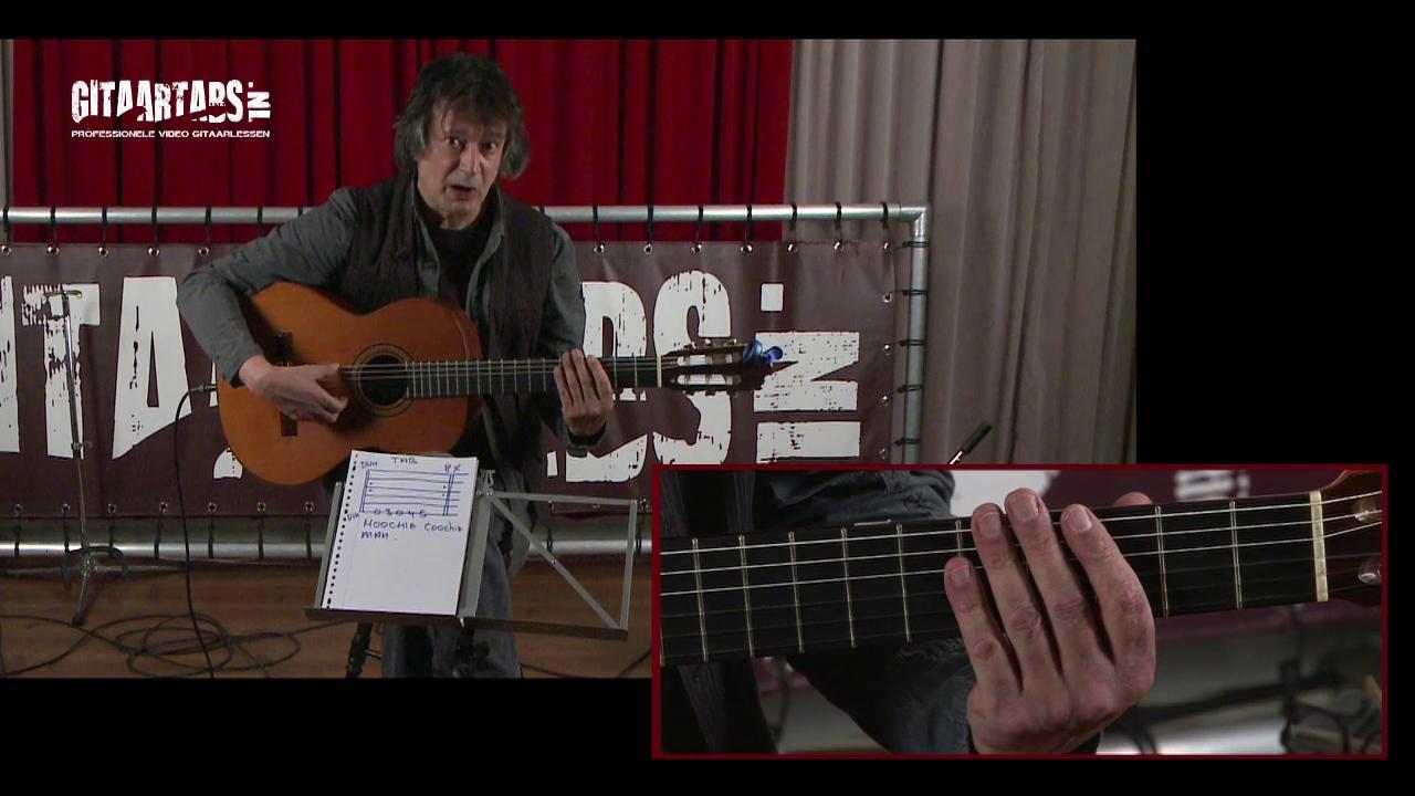 Beginners gitaarles - tabs