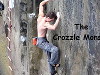 First Ascent of The Crozzle Monster 7c+ S1