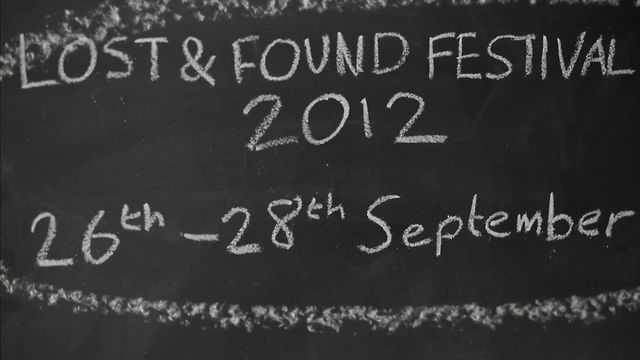 Lost & Found Festival trailer 2012