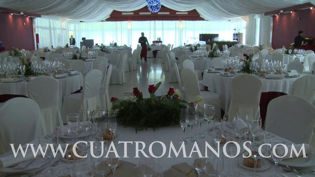 La realeza decoraci n del sal n grande on vimeo - Decoracion salon grande ...