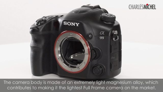 Sony Alpha 99 - First Look Review
