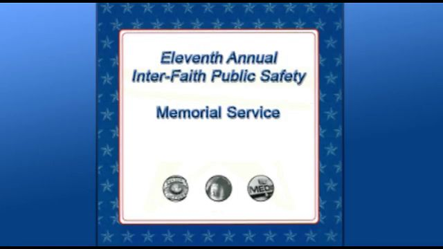 Public Safety Memorial 2012