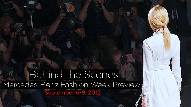 All Access: Fashion Week Spring 2012 x Elie Tahari