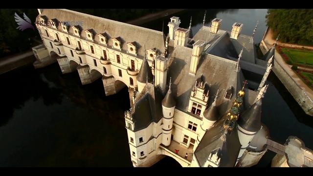 &quot;La Loire et ses Ch&acirc;teaux&quot;. Extrait Tournage pour France 2 Drone.