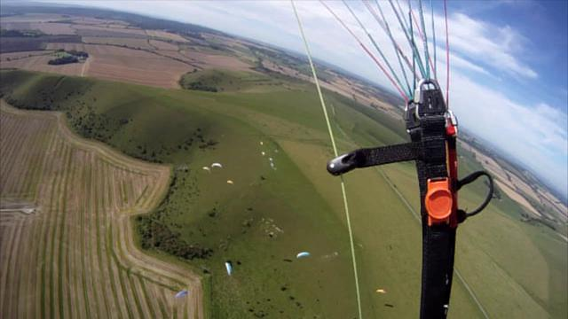 Mere Bash 2012 - Paragliding at Mere Rifle Range