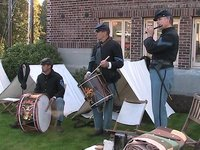 Heritage Days Civil War re-enactment