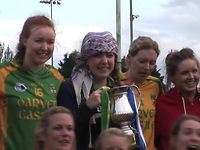 Nicola Inspires Parnells to Louth SFC