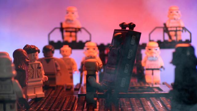 """Close up of Frozen Han"", Star Wars Uncut Scene 382"