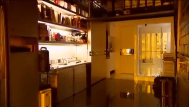 One Tiny Apartment Transforms into many Rooms on Vimeo