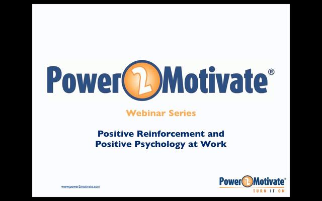 psychology and positive reinforcement Positive and negative reinforcement reinforcement is an essential part in identifying and encouraging a certain behavior in the most classic definition, positive.