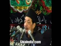 Allama Zameer Akthar Naqvi - 2nd Majalis, Hyderabad India