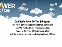 GRADE 1: BASIC FACTS TO TEN AND BEYOND