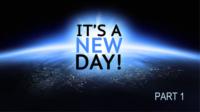 "September 9 2012: ""It's A New Day"" Part 1"