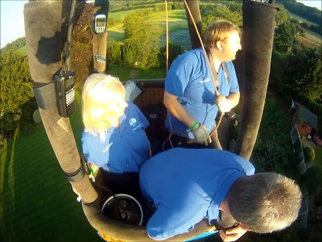Bristol International Balloon Fiesta 2012 Friday PM Flight