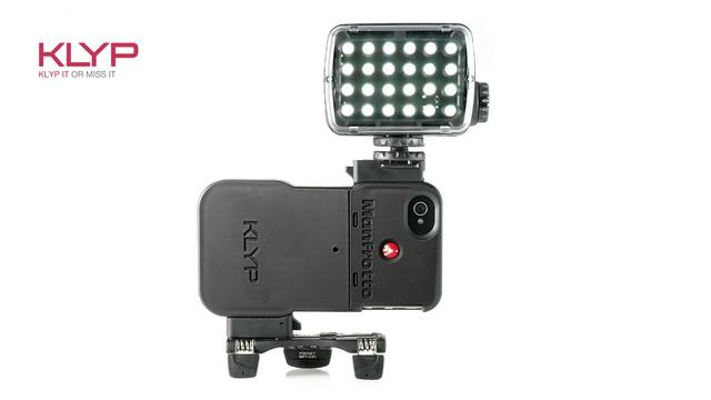Photo Plus 2012 – Manfrotto introduces the Klyp for iPhone