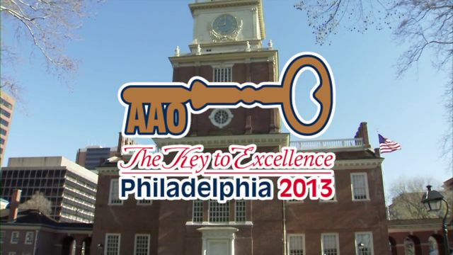 113th AAO Annual Session - May 3-7, 2013