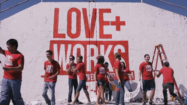Love Works  - Paint
