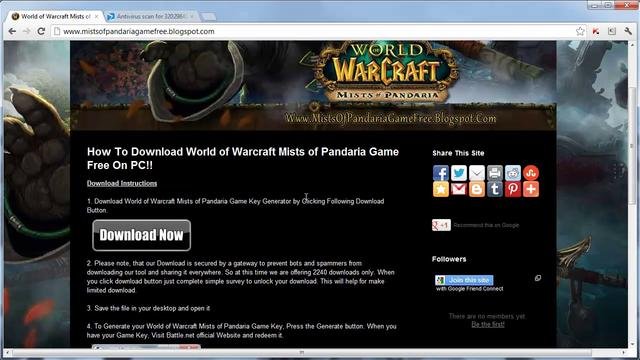 Free Download The World Of Warcraft Game Cards