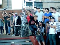Saturday, September 22nd the Second Annual NYC Invite went down at Coleman Skatepark in Manhattan. Bladers from all over the country and world showed up along with a mob of new and old-style NY rollers for a day to remember. At the end of the day John Bolino took first, Erik Bailey second, Nick Lomax third, and Tim Franken fourth. Check out the full write up on http://oneblademag.com.