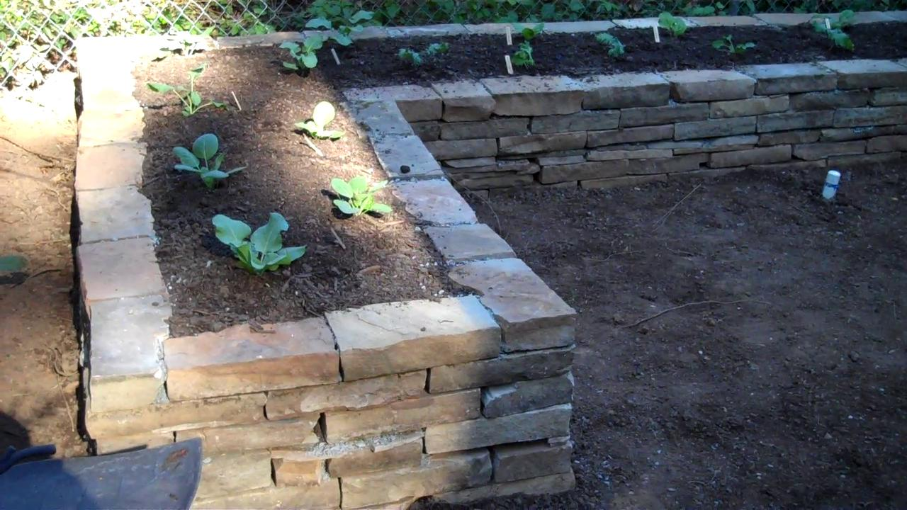 Secrests Stone Raised Bed Garden - Part 3 on Vimeo
