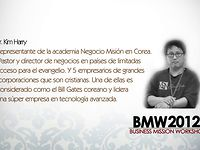 Taller#1 Pr. Harry Kim  BMW (Business   Mission Workshop)