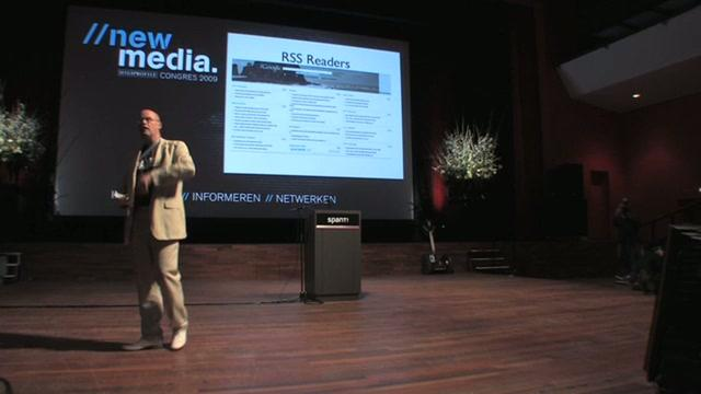 Vincent Everts @ High Profile New Media Congres 2009