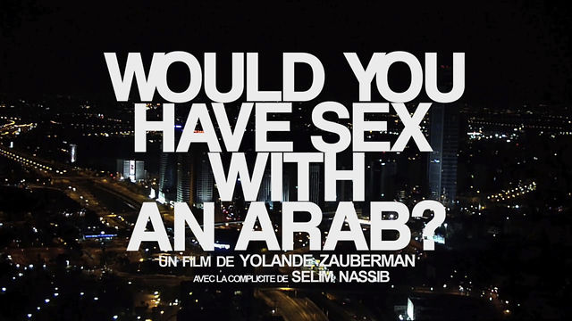 Would you have sex with an arab