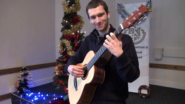 Ewan McLennan plays The First Noel