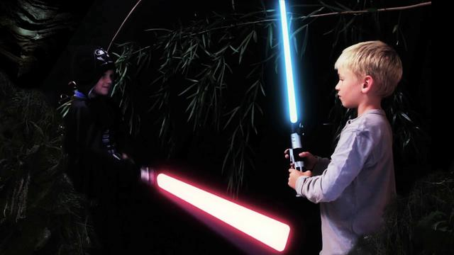 slo mo lightsaber fight by seth hunau star wars uncut the empire