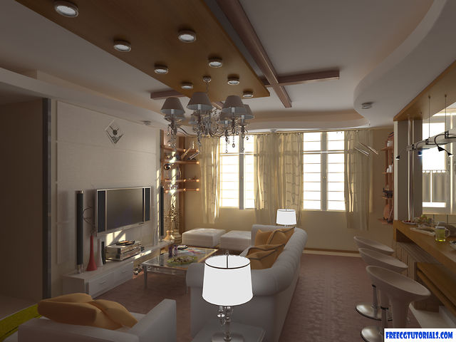 22 best 3ds max tutorial videos for 3d designers and animators for Vray interior lighting rendering tutorial
