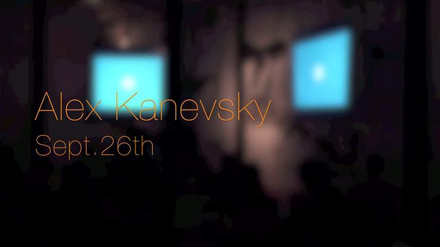 Alex Kanevsky - Art & Culture Lecture - 092612
