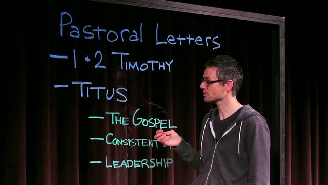 Bible in Five: The Pastoral Letters | Blackhawk Church