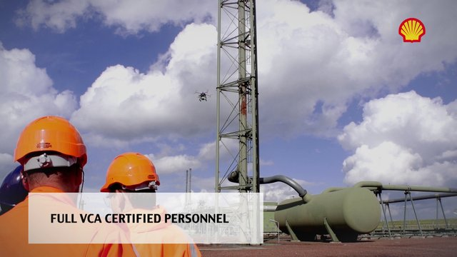 Aerial inspection services by Airfilms Productions