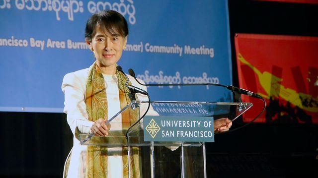 Inspiring Speech by Aung San Suu Kyi