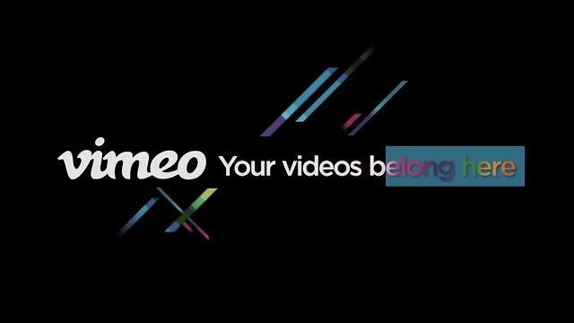 Vimeo Production Reel 2012
