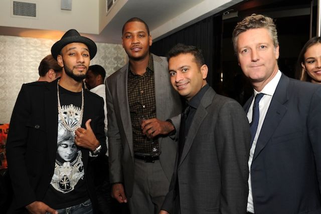 HauteTime.com Toasts New Partner and Ambassador Carmelo Anthony with Louis XIII at STK
