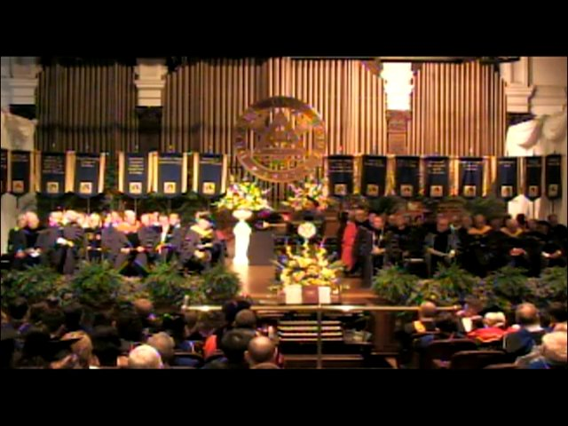 The 2012 Convocation of Drexel University