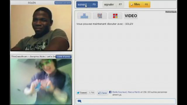 chatroulette style