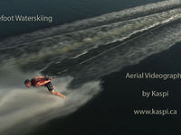 Barefoot Skiing | Aerial Video | Toronto, Canada