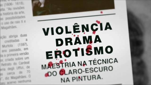 Document&aacute;rio Caravaggio - Trailer 01