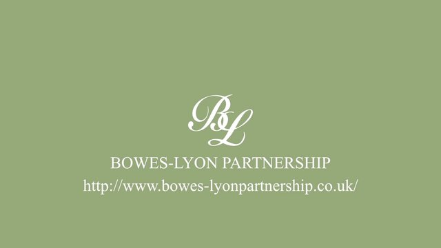 Bowes-Lyon Partnership