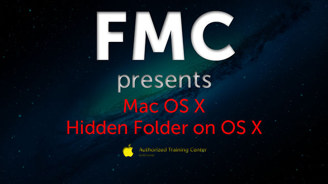 Hidden Folders on Mac OS X
