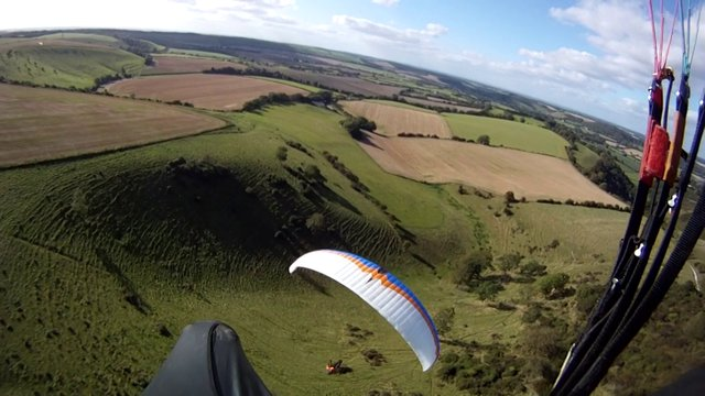 Butser Rock 'n' Roll - Skysurfing Club Paragliding