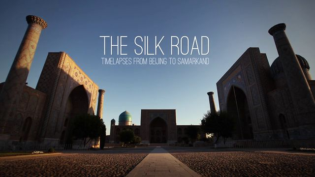 Timelapses from the Silk Road