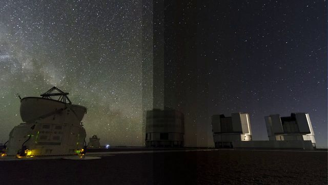 Day/Night at the ESO VLT