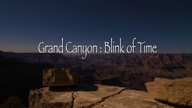 Il Grand Canyon in Time-Lapse